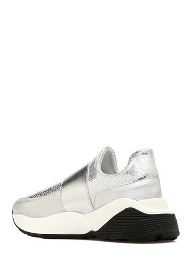 Que Sneakers Gümüş